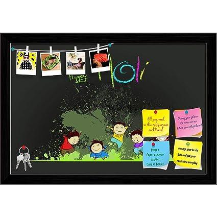 Amazon.com: ArtzFolio Kids Enjoying Holi Printed Bulletin ...