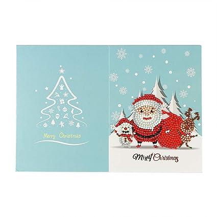 Amazon Com Weite Handmade Christmas Cards With Envelope