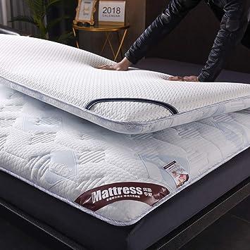 Tatami Mattress Hypoallergenic Futon Mattress Double Spring Mattress Comfort Portable Bedroom Home-White 90x200cm 35x79inch Memory Foam Mattresses