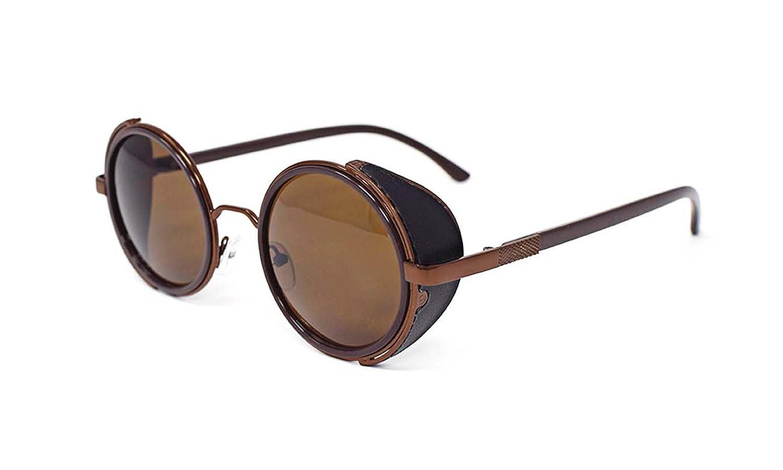 5f856e4ea049e Steampunk Sunglasses Goggles Premium Quality Retro Female Male Round ...