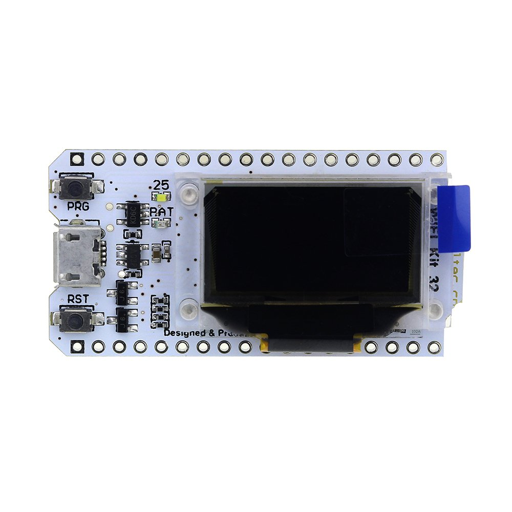 diymore WIFI Kit 32 ESP32 WIFI wireless with 0 96 inch OLED Display CP2102  Development Board for Arduino Nodemcu