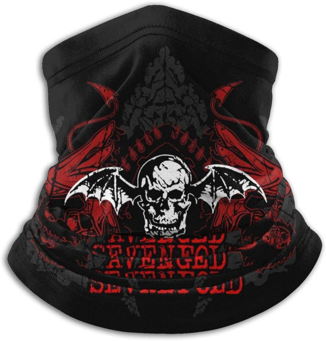 QDAS Avenged Sevenfold Men Women Balaclava Headband Neck Gaiter Warm ma-sk Scarf#1
