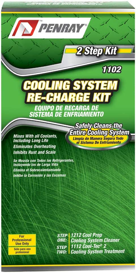 Penray 1102, 2 Step Cooling System Re-Charge Kit (10)
