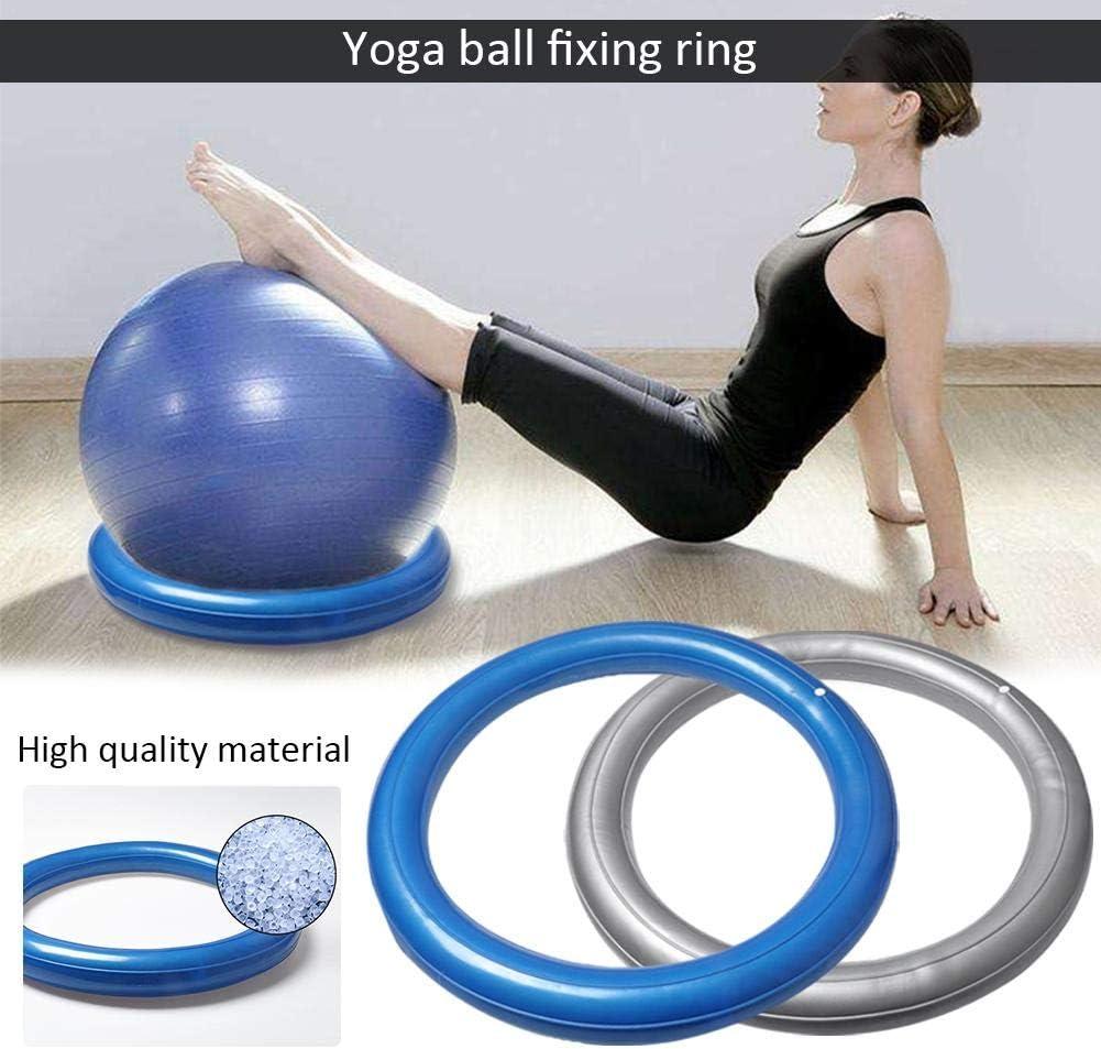 Pilates WXGY /Übungs-Yoga-Ballst/ühle Halten Sie Ihr Gleichgewicht Ball Stabilit/ät Yoga Blau /Übungsball-Fixring f/ür die Geburt /Übungen