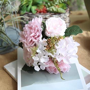 How To Make A Wedding Bouquet With Artificial Flowers.Amazon Com Smoxx Artificial Flower Artificial Fake Flowers Dahlia