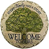 landscape stepping stones Carson Welcome To Ours Stepping Stone Home Decor