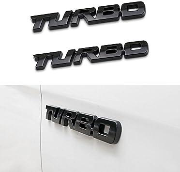 2PCS Of Luxury Letter Emblem Badge Side Fender Sticker 3D for BMW