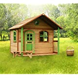 Wooden Playhouse Milan for Kids and Toddler