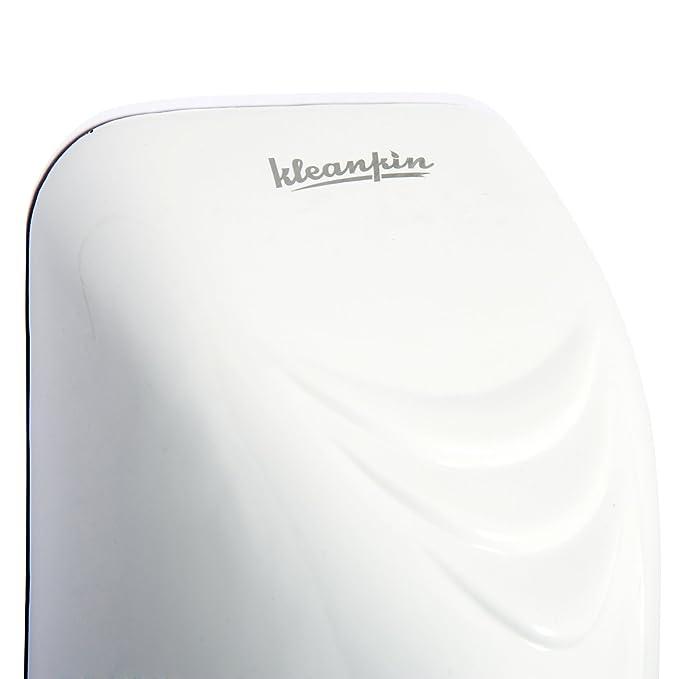 kleankin Secador de Manos Electrónico Automático con Sensor Montaje en Pared 850W contra Sobrecalentamiento Aire Caliente 20.5x13.5x29cm