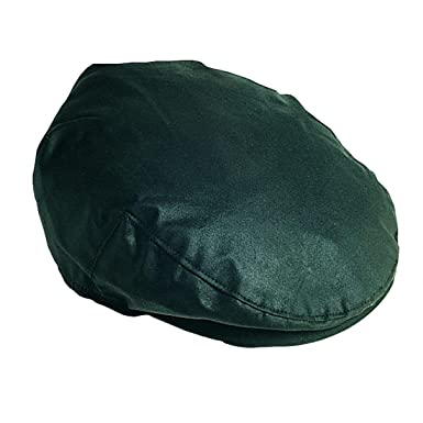 Men s Barbour Waxed Flat Cap - Navy  Amazon.co.uk  Clothing 5852bc027e2