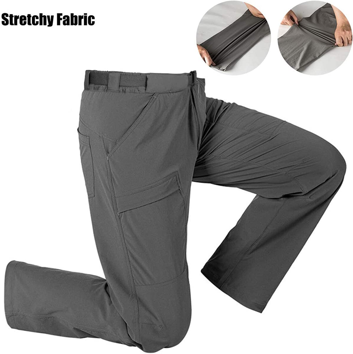Water Resistant Cargo Pants FREE SOLDIER Womens Hiking Pants Outdoor Quick Dry Lightweight Stretch Pants UPF 50
