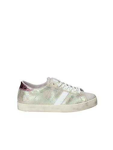 D.A.T.E. W281-HL-PR-DR Sneakers Femmes Blanc 38 anf0cYCK0