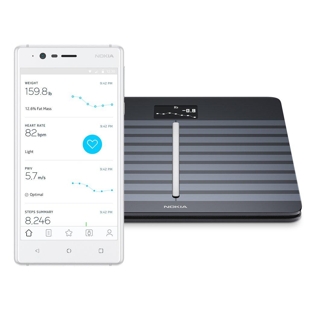 Nokia Body Cardio – Heart Health & Body Composition Wi-Fi Scale, Black by Nokia health (Image #2)