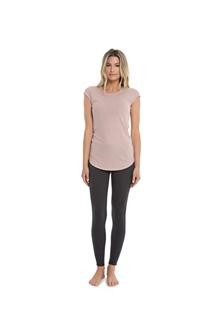 d3190376a4 Barefoot Dreams Malibu Collection Women Loose Fit Jersey Cap Sleeve ...