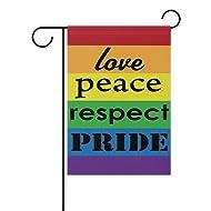 90b1c13e362b ALAZA Rainbow Pride Flag Garden Decorative