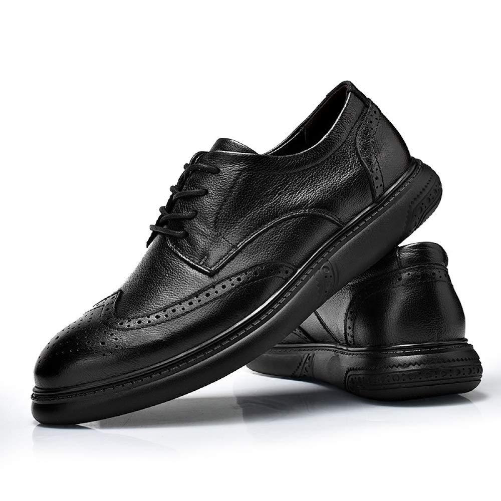 Oxford Schuhe Up Männer Schwarz Hochzeit Lace Up Schuhe Lackleder Brogues Schuhe Lederschuhe Lässig Herbst Ledergeschäft Geschnitzt schwarz 71044f