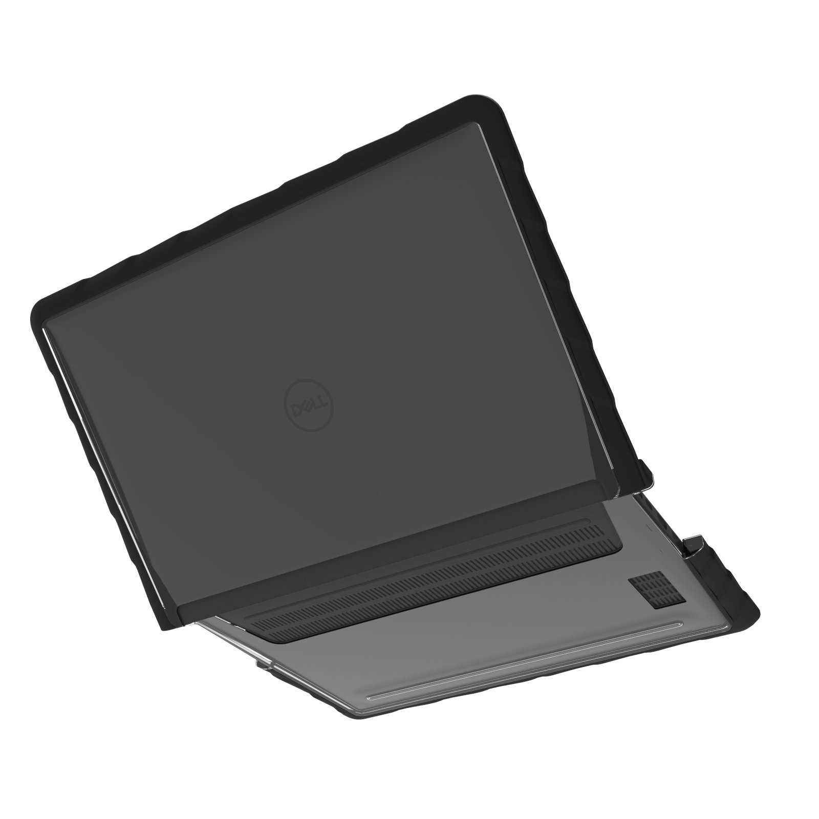 Gumdrop DropTech Case Designed for Dell Latitude 7389 and 7390 13 Inch 2-in-1 Laptop for K-12 Students, Kids - Black, Shock Absorbing, Extreme Drop Protection by Gumdrop Cases (Image #7)