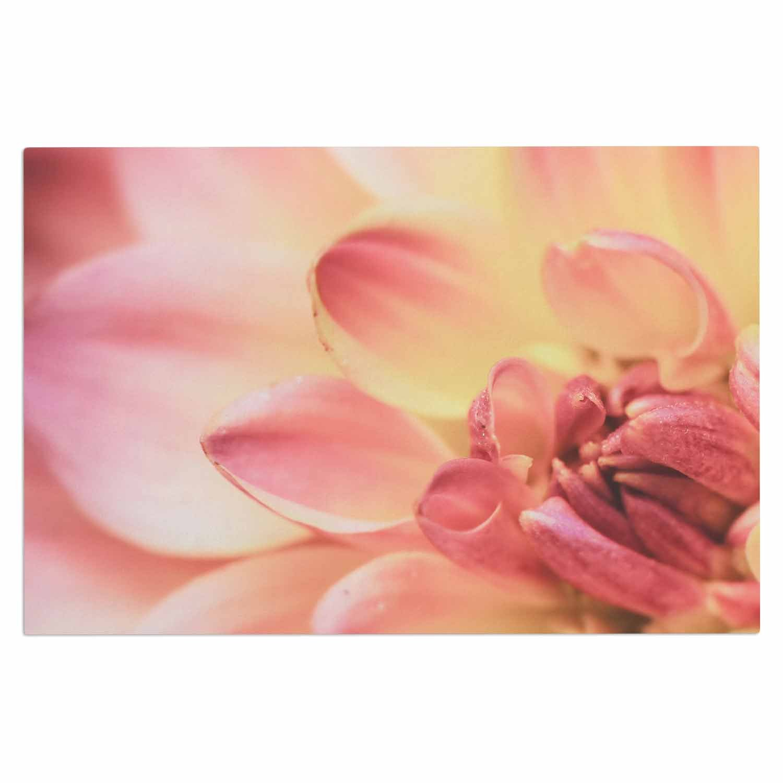 2 x 3 Floor Mat Kess InHouse Debbra Obertanec Spring Pastel Floral Decorative Door