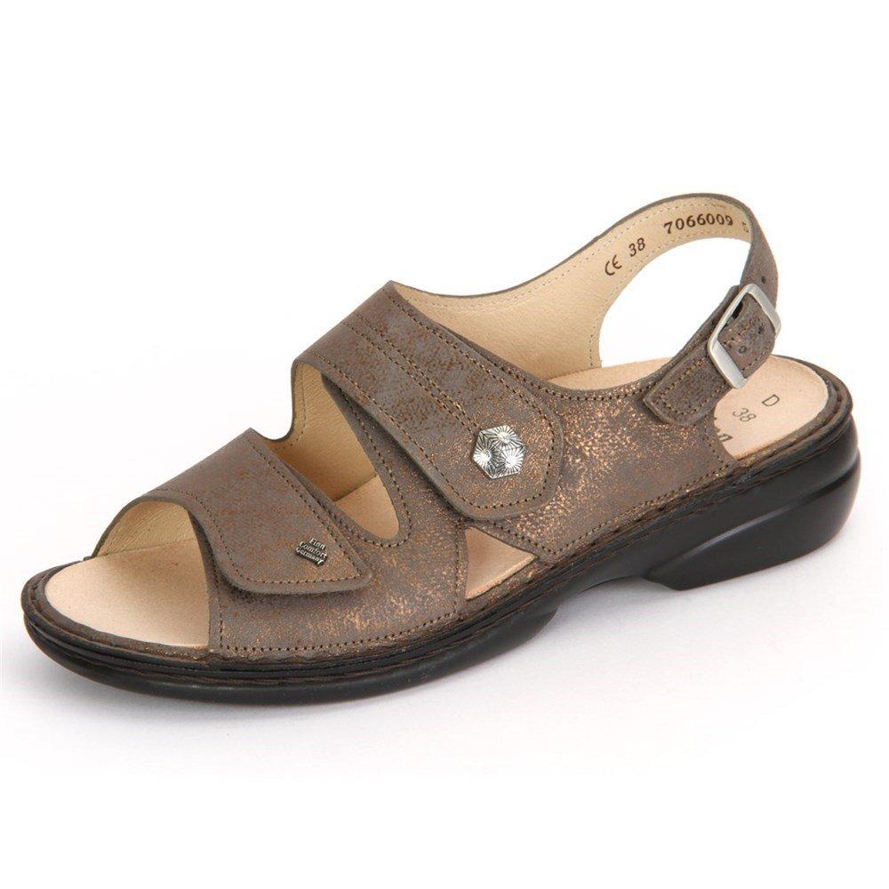Finn Comfort Milos Bronzo Victory - 02560553390 - Color Brown - Size: 36.0 EUR