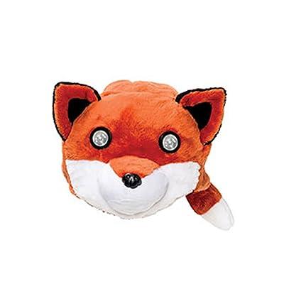 Hog Wild Soft, Cuddly and Wearable Headlights (Fox): Clothing
