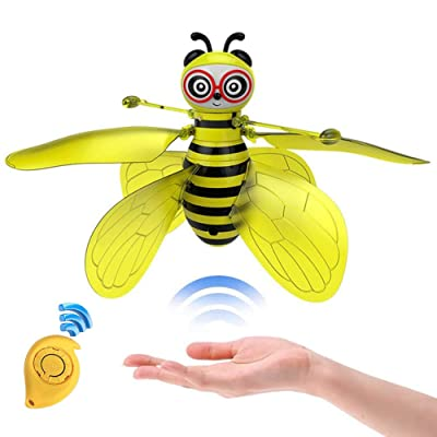 Minaliv Flying Bee Toys for Girls,RC Infrared Sensor Control Remote Control Child Toy: Toys & Games