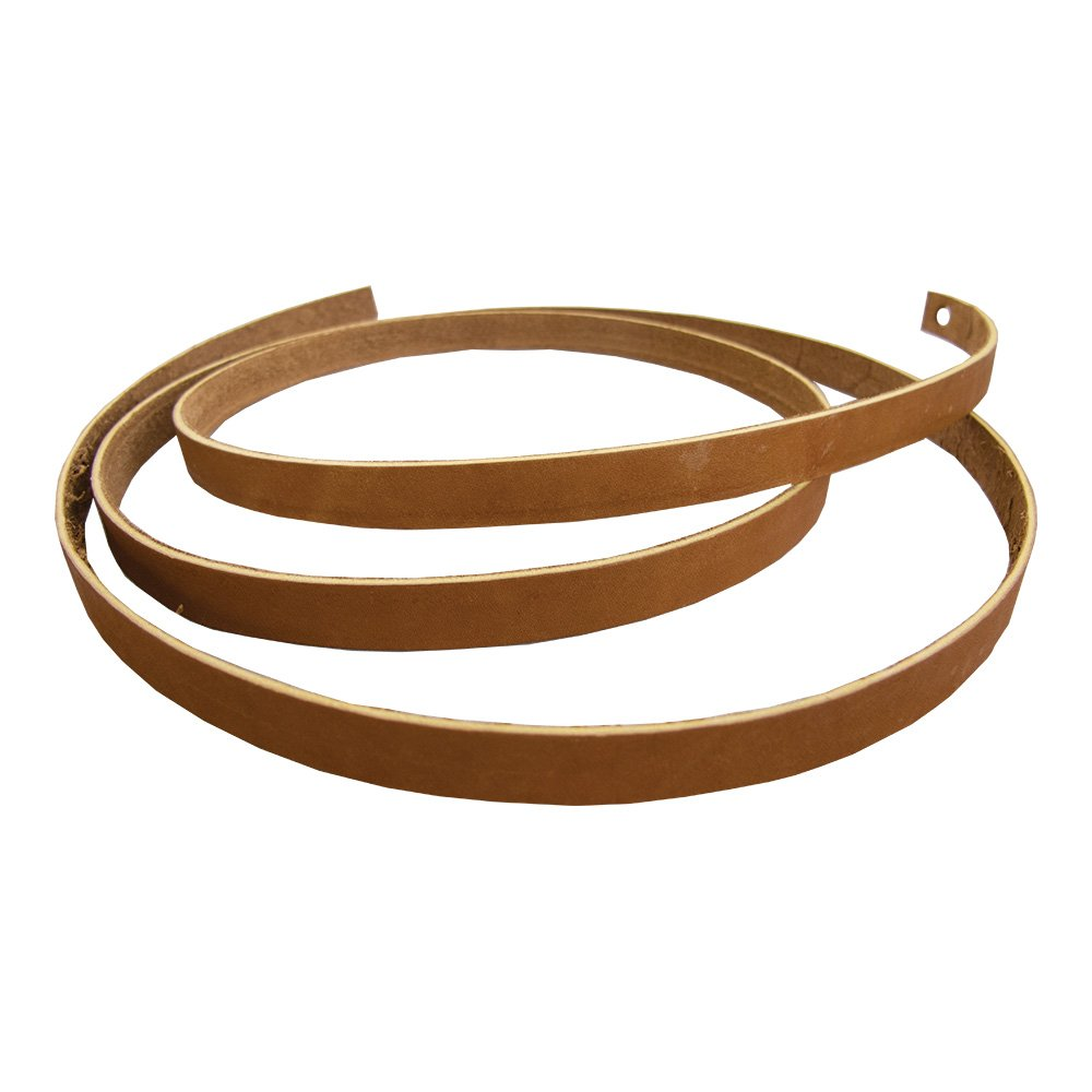 Tan, 3//8 x 72 Springfield Leather Company Premium Alum Tanned Saddle String