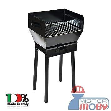 Mistermoby Tipo Graso Barbacoa 40 X 30 de Carbón, Carbón Para Cachimba Quemado Rápido con