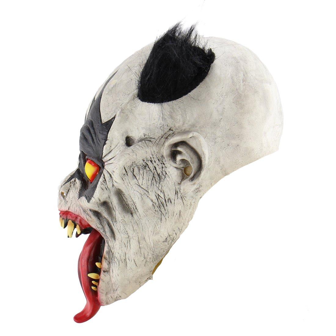 Xiao Chou Ri Ji Scary Halloween Clown mask Costume Party Costume Party Props.