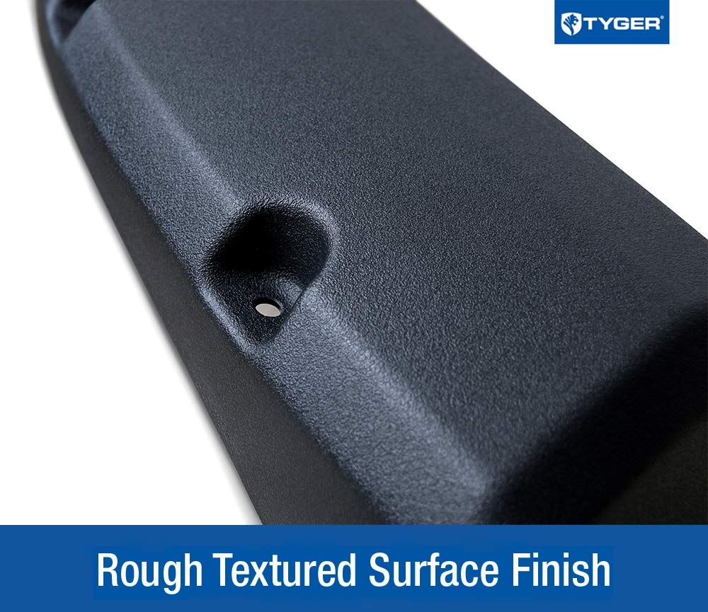 Exclude R//T and Rebel Models Tyger Auto TG-FF8D4147 Black 1 TG-FF8D4147 for 2009-2018 Dodge Ram 1500; 2019 Ram 1500 Classic Pocket Bolt-Riveted Style Fender Flare 1 Non-Carb Compliant