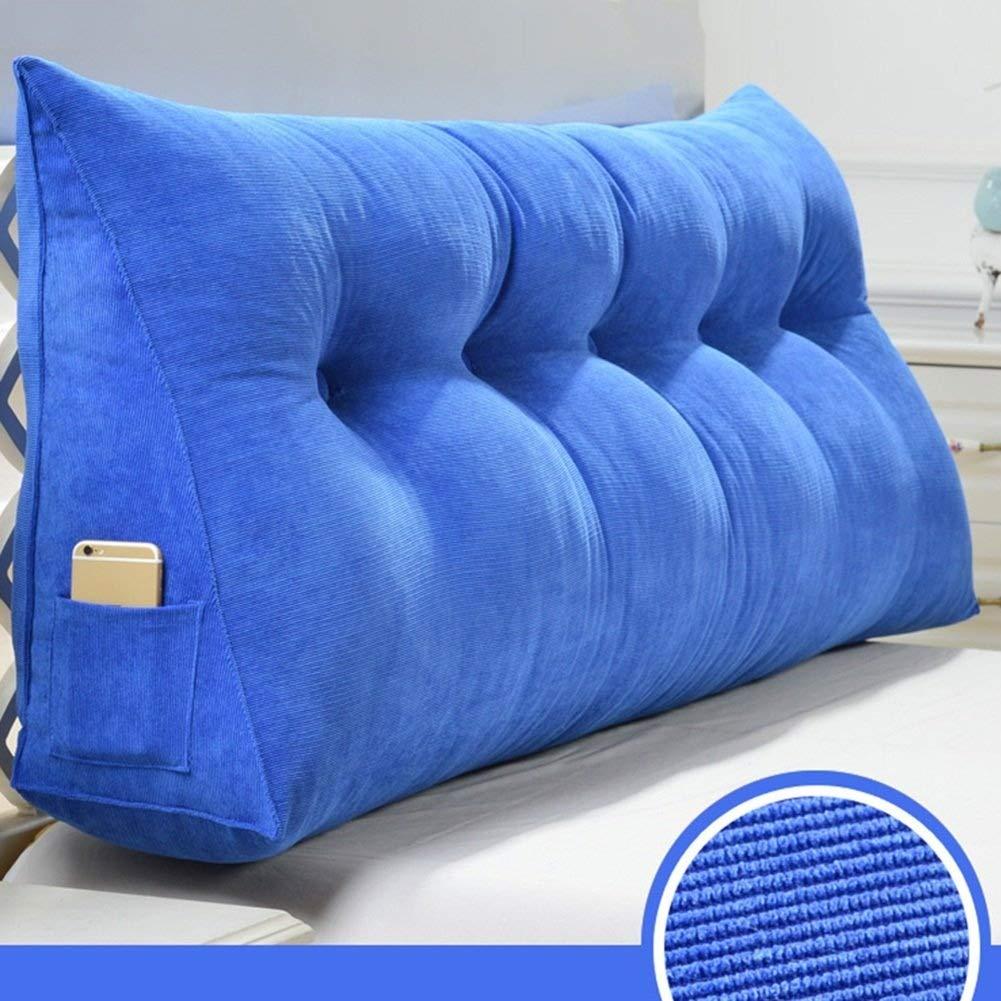 【お取り寄せ】 トライアングルベッド大型クッションウェッジ背もたれウエストパッドベッドソファソフトバッグバックレスト さいず、取り外し可能、洗える、5色、9サイズ (色 B07R8PDLYC : Royal Royal Blue, サイズ さいず : 180×50×20cm) B07R8PDLYC 60×50×20cm|Royal Blue Royal Blue 60×50×20cm, ニシクビキグン:ae8619bb --- condor-resources.com