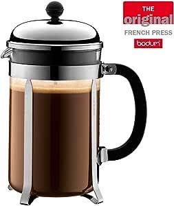 Bodum Australia Pty Coffee Maker French Press, Chrome, 1932-16