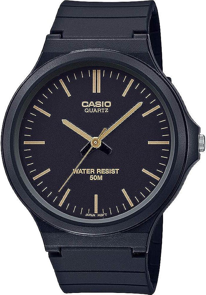 Casio MW-240 - Reloj analógico de Cuarzo Unisex con Pulsera de Resina