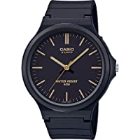 CASIO MW-240 - Reloj analógico de Cuarzo con Pulsera de Resina