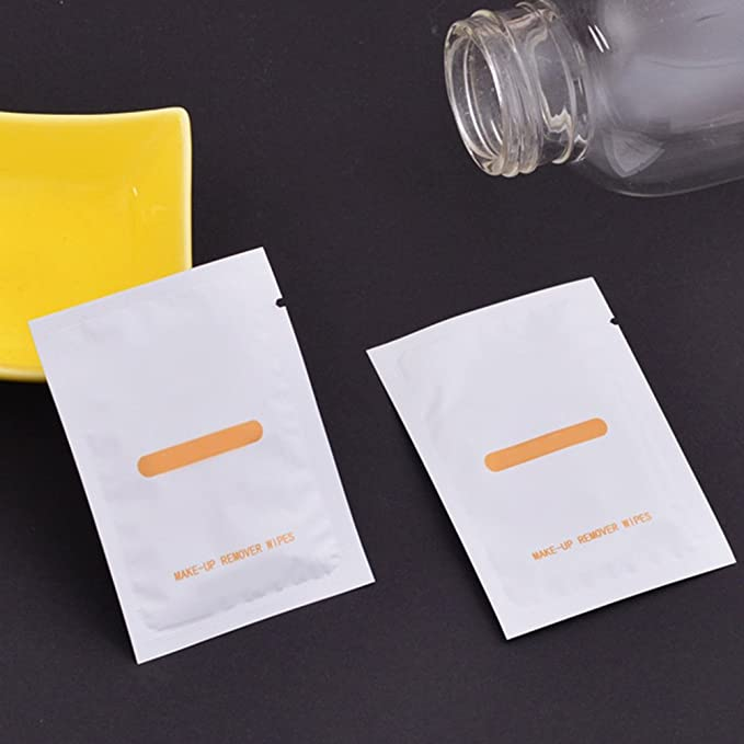 Frcolor 50pcs removedor de maquillaje toallitas húmedas Toallitas limpiadoras toallitas húmedas diarias toallitas desechables: Amazon.es: Belleza