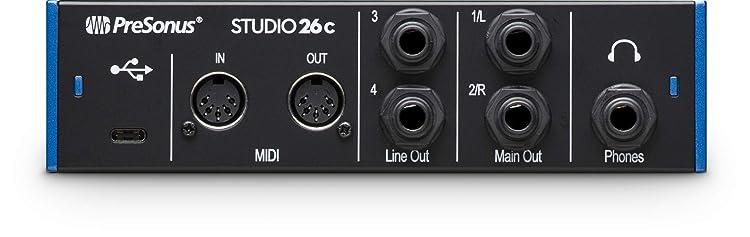 Studio 26c:リアパネル