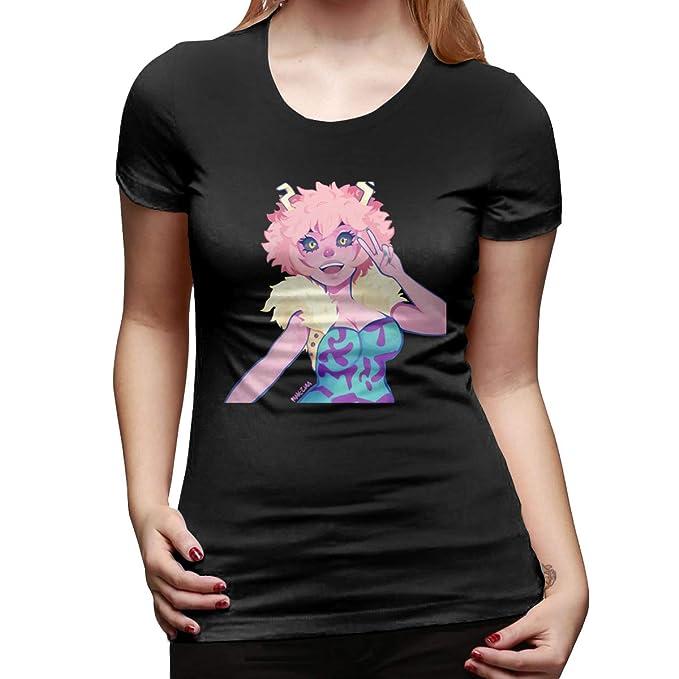 Amazon Com My Hero Academia Pinky Ashido Mina T Shirts For