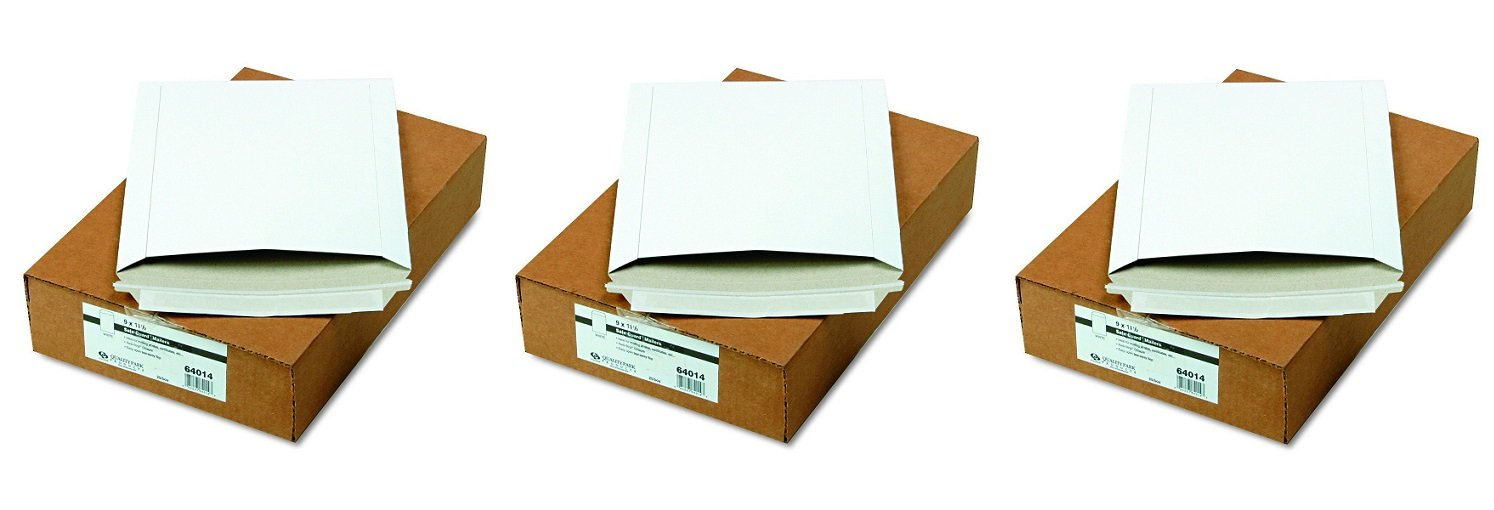 Quality Park Extra-Rigid Fiberboard Photo/Document Mailers, 9 x 11.5 Inches, Box of 25 (64014) (3 X Pack of 25)