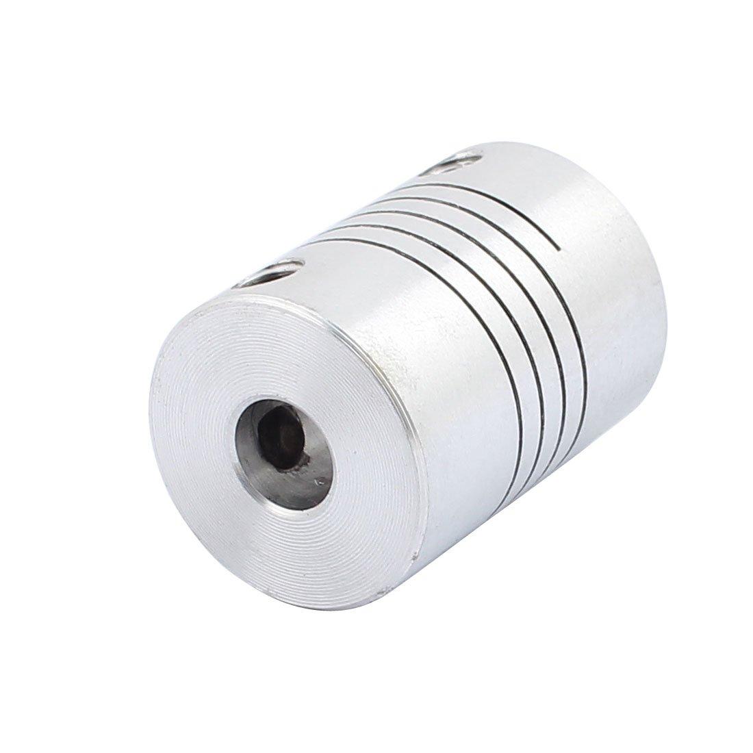 sourcingmap/® D18L25 6mmx6mm Aluminum Legierungswellenkupplung Flexibler Motoranschluss DE de