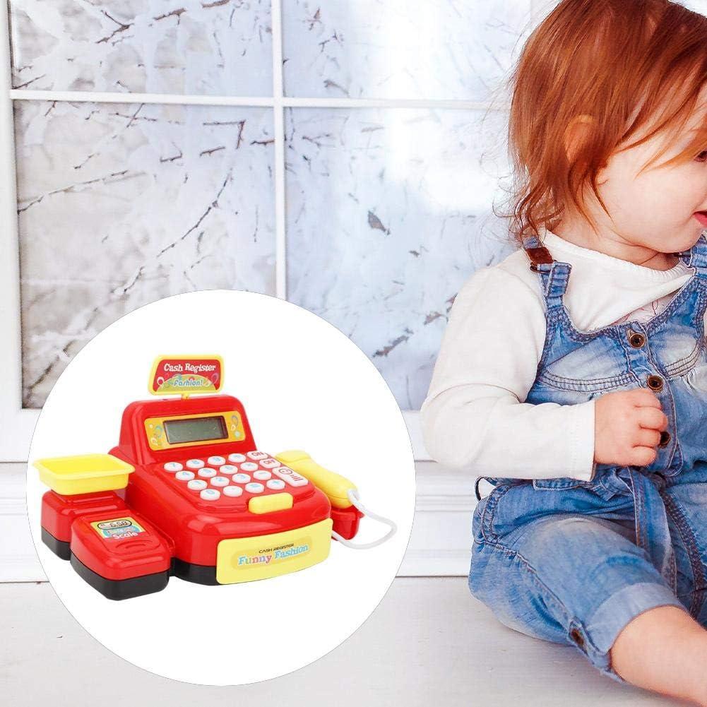 884A-3 Drfeify Caisse enregistreuse Jouet Jeu de Simulation Supermarch/é Caisse enregistreuse Jouet Puzzle Jeu Jouet Enfants
