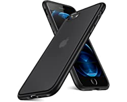 Humixx for iPhone SE 2020 Case & iPhone 8 Case Shockproof [Military Grade Drop Protection] [Upgraded Nano Material] Transluce