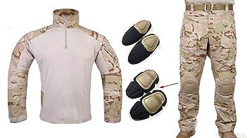 Los hombres del ejército militar Airsoft Paintball juego de ...