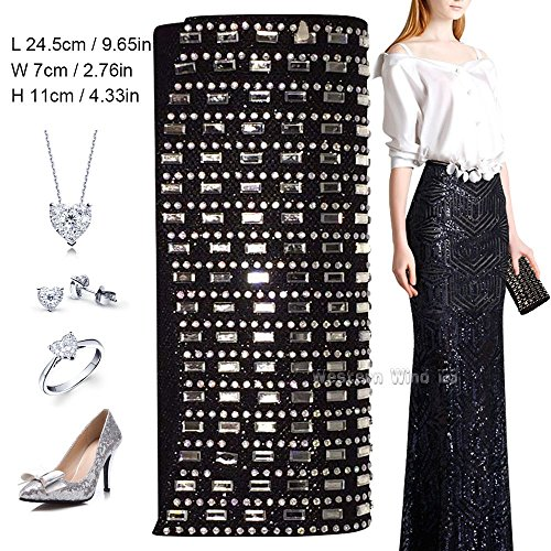 HandBags Evening Girly Handbag Party Satin Purse Prom Clutch Bridal Ladies Black Wedding Bag Prom Wocharm Sparkly XAwEEq