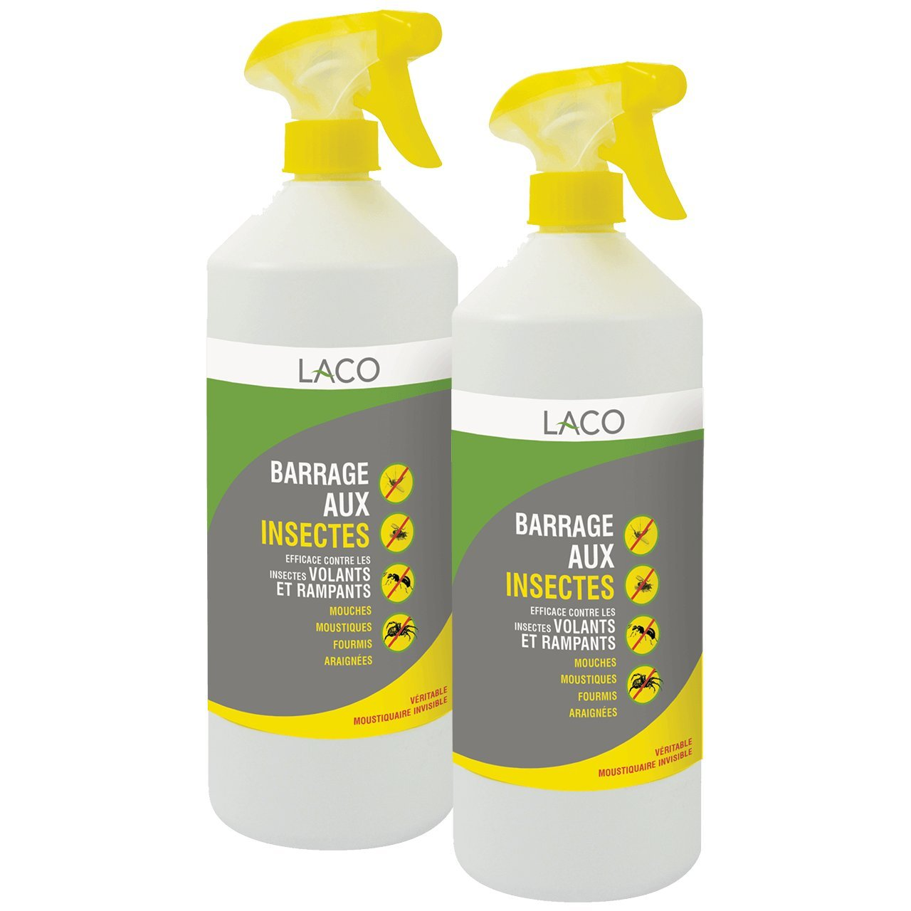 Insecticide En Spray Anti Insectes Barrage Aux Insectes 2x 1l