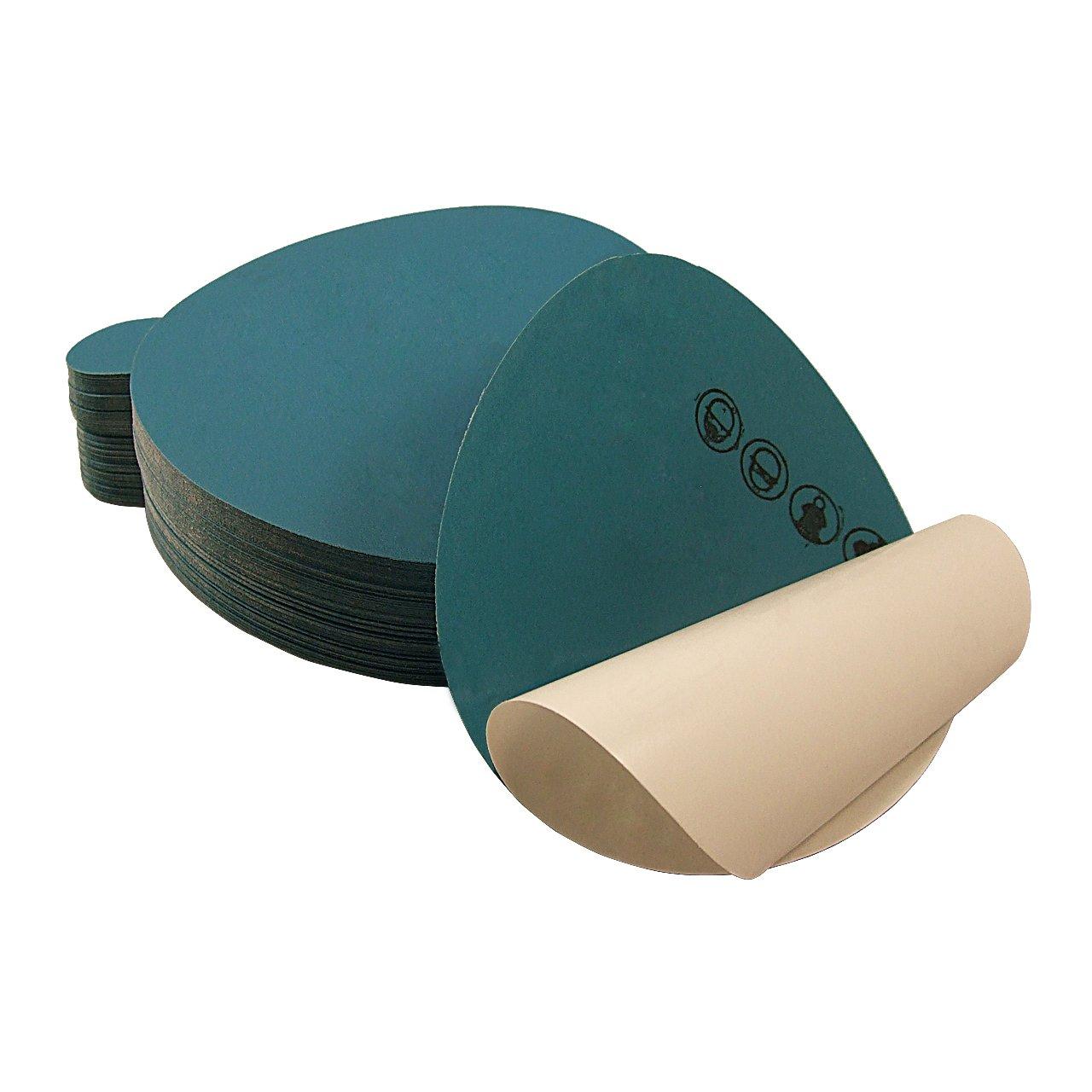 50-Pack 5 Inch 1000 Grit Adhesive Back PSA Auto Body Film Sanding Discs