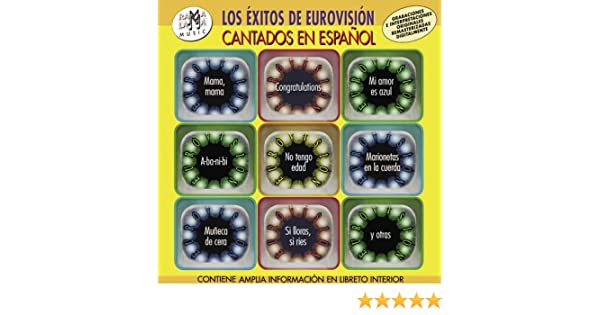 Los Éxitos Cantados En Español: Eurovision: Amazon.es: Música