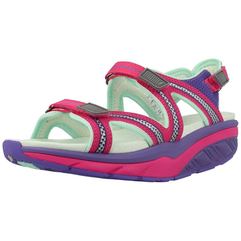 MBT Women's Lila Sport Sandal Ultra Violet/Fuchsia Synthetic 39 Medium