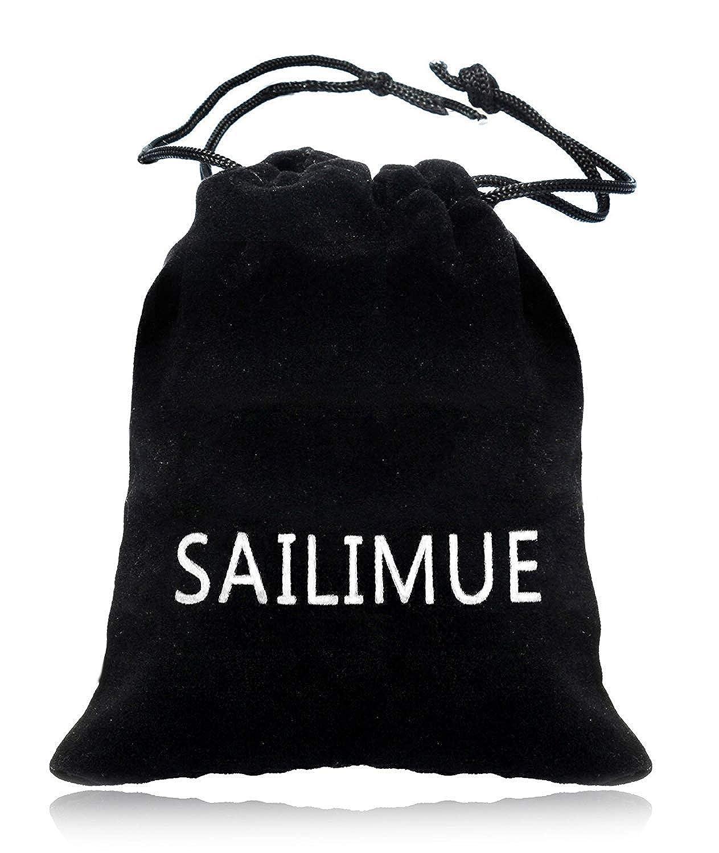 Sailimue 47 Pi/èces Knuckle Bague Phalange pour Femme Fille R/étro Boh/ème Le Style Turquoise Opale Plume Vague Knuckle Ring Ensemble Formes Diverses