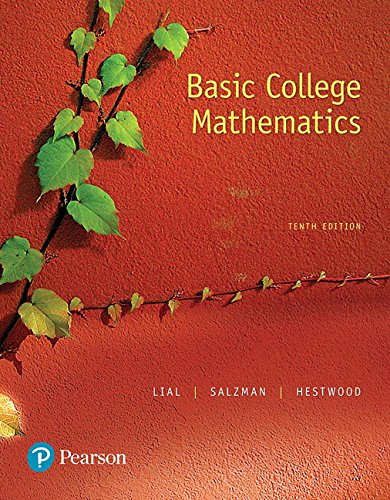 Basic College Mathematics Plus Pearson MyLabs Math with Pearson eText -- Access Card Package (10th Edition)