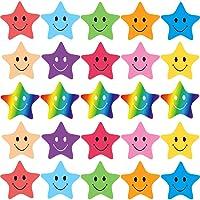 Julymall Smiley Happy Face Stickers en Smiley Star Stickers voor Leraren, Ouders Kinderen Craft Scrap Boeken Decoratie…