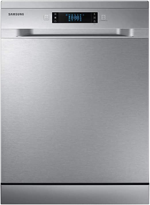 Samsung Dw60m6050fs Freestanding A Rated Dishwasher Stainless Steel Amazon Co Uk Large Appliances
